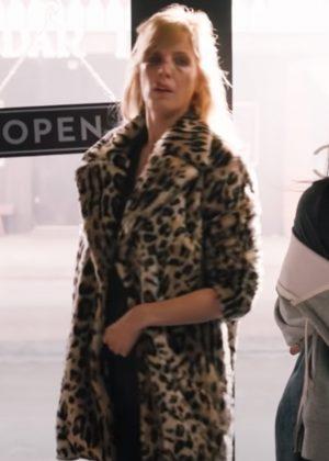 Beth Dutton Yellowstone Kelly Reilly Cheetah Print Coat