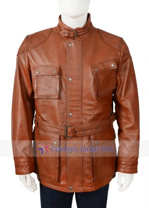 Brad Pitt The Curious Case Of Benjamin Button Leather Jacket