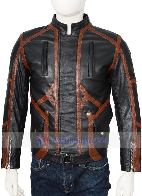 Bucky Barnes Captain America Winter Soldier Leather Jacket