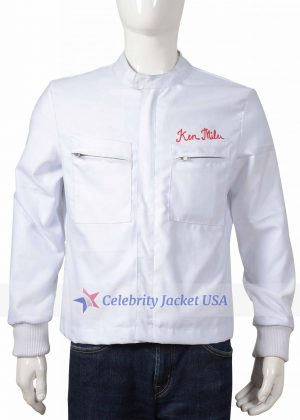 Christian Bale Ford Vs Ferrari Ken Miles Cotton Jacket