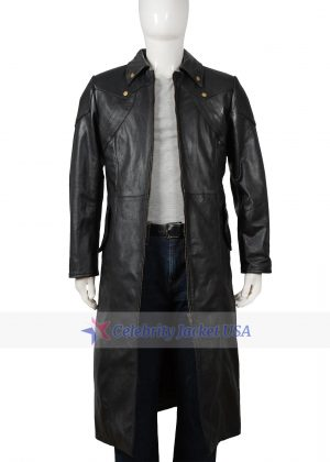 Dante Devil May Cry 4 Black Leather Coat