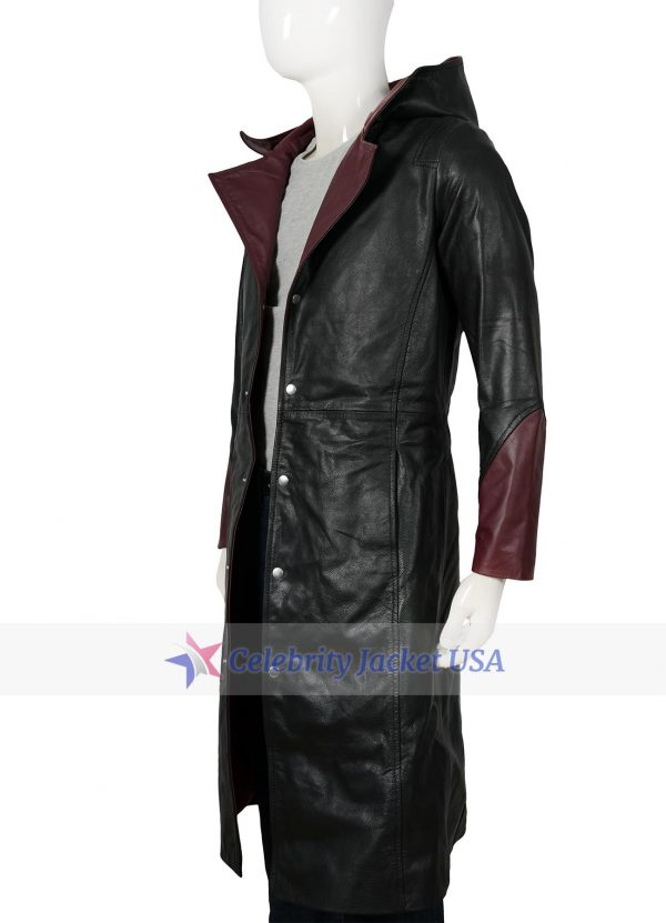 Dante Game Series Devil May Cry 5 Leather Coat