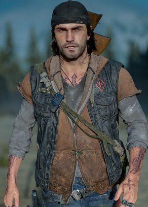 Deacon Lee t John Leather Vest