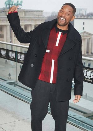 Detective Mike Lowrey Bad Boys For Life Will Smith Wool Coat