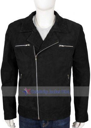 Dwayne Johnson Ballers Spencer Strasmore Suede Leather Jacket