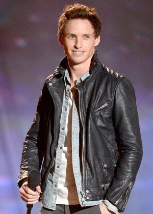 Eddie Redmayne Mtv Movie Awards Biker Leather Jacket