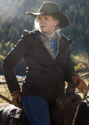 Evelyn Dutton Yellowstone Gretchen Mol Jacket