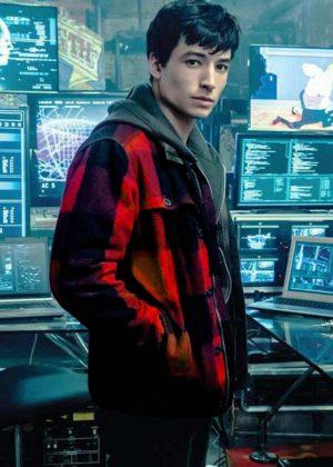 Ezra Miller Flash Barry Allen Jacket