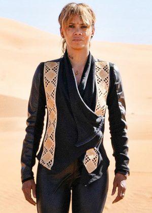 Halle Berry John Wick 3 Black Cotton Jacket