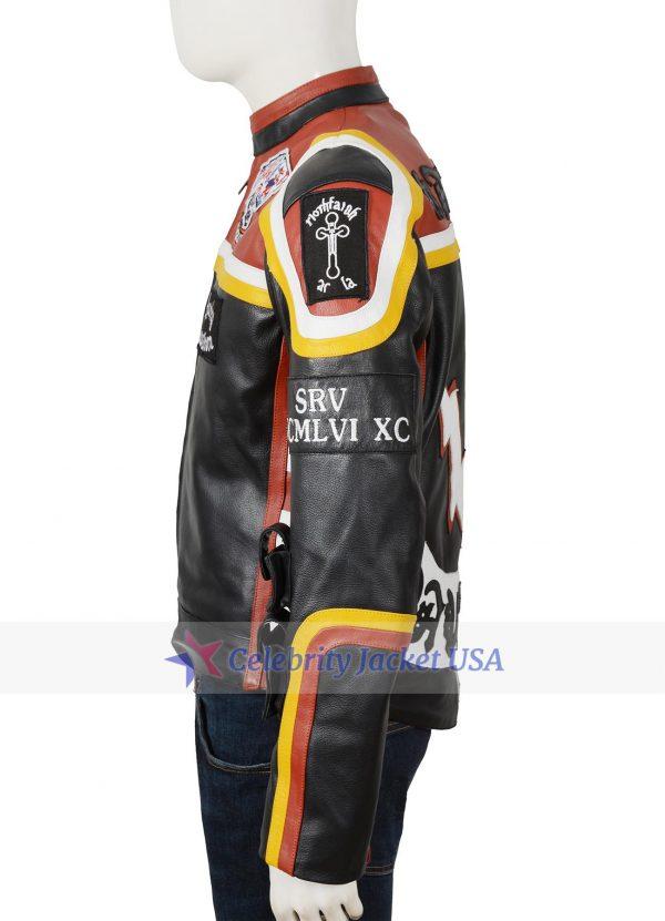 Harley Davidson Marlboro Vintage Motorcycle Leather Jacket