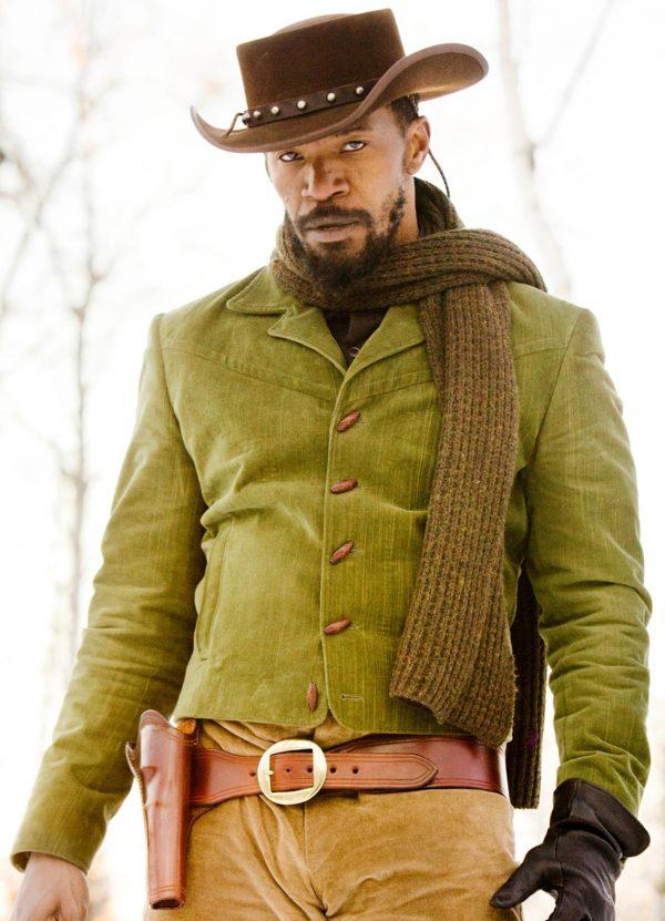Jamie Foxx Django Unchained Fabric Jacket