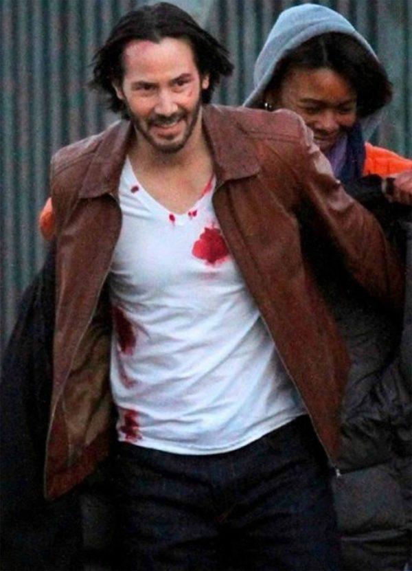 Keanu Reeves John Wick Leather Jacket