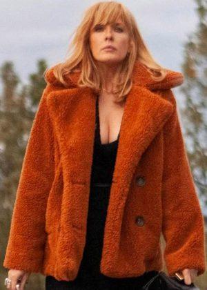 Beth Dutton Yellowstone Kelly Reilly Fur Jacket
