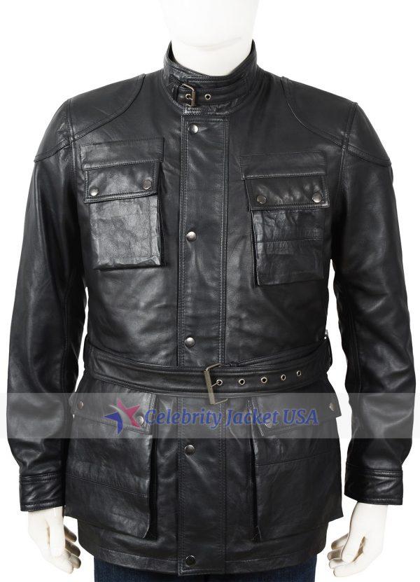 Kiefer Sutherland 24 Live Another Day Jack Bauer Leather Jacket