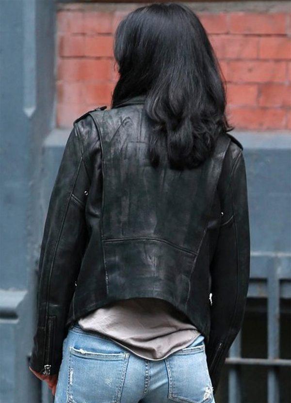 Krysten Ritter The Defenders Jessica Jones Black Jacket