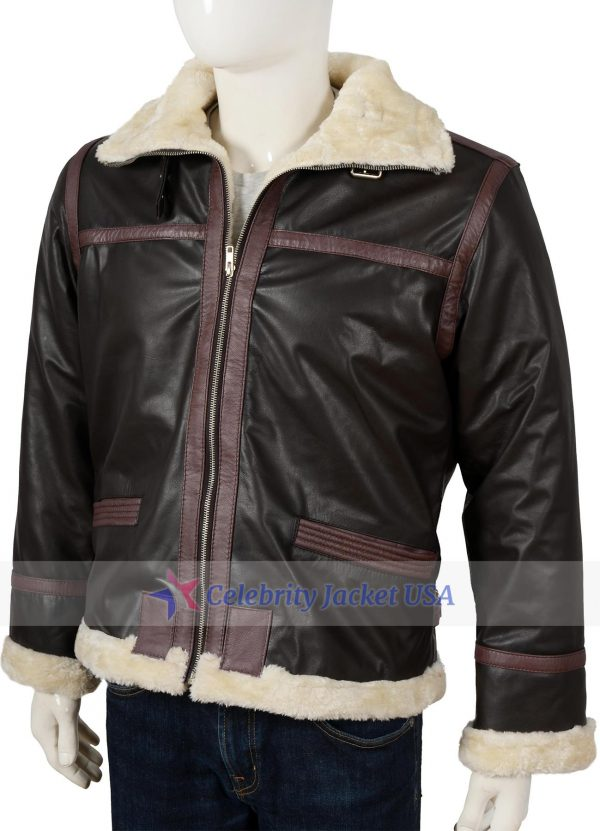 Leon S Kennedy Resident Evil 4 Gaming Leather Jacket