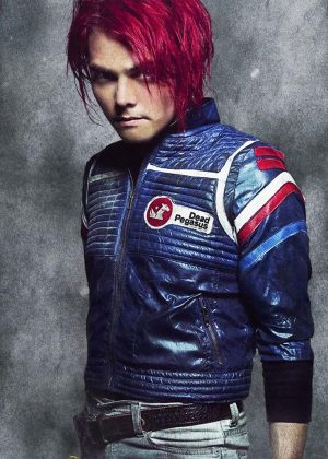 Party Poison My Chemical Romance Leather Jacket
