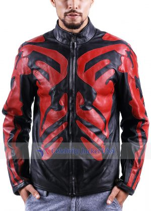 Ray Park Star Wars Darth Maul Leather Jacket