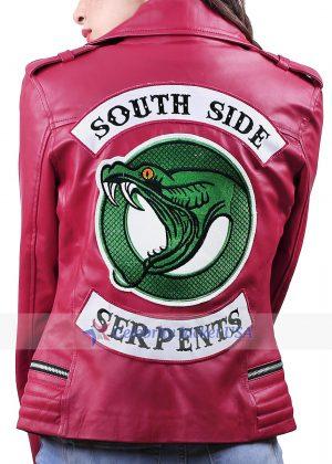 Riverdale Southside Serpents Red Women Jacket
