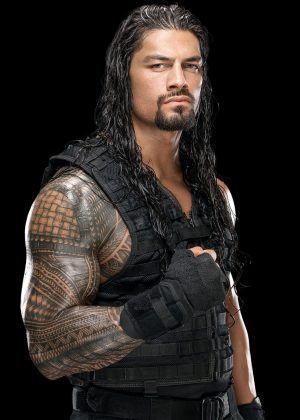 Roman Reigns Reasalar WWE 2014 Leather Vest