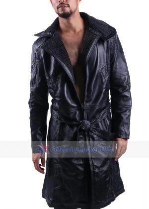 Ryan Gosling Blade Runner 2049 Officer K Trench Leather Coat