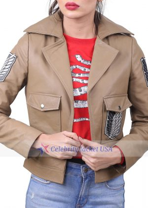 Scout Regiment Attack On Titan Leather Jacket