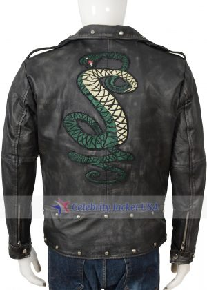 Tunnel Snakes Rule Leather Jacket