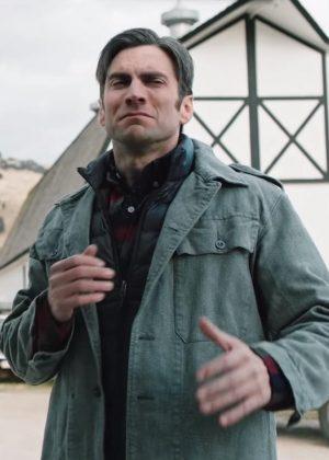 Jamie Dutton Yellowstone Wes Bentley Cotton Fabric Jacket