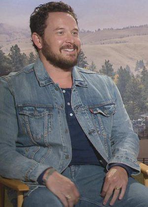 Cole Hauser Yellowstone Rip Wheeler Denim Jacket