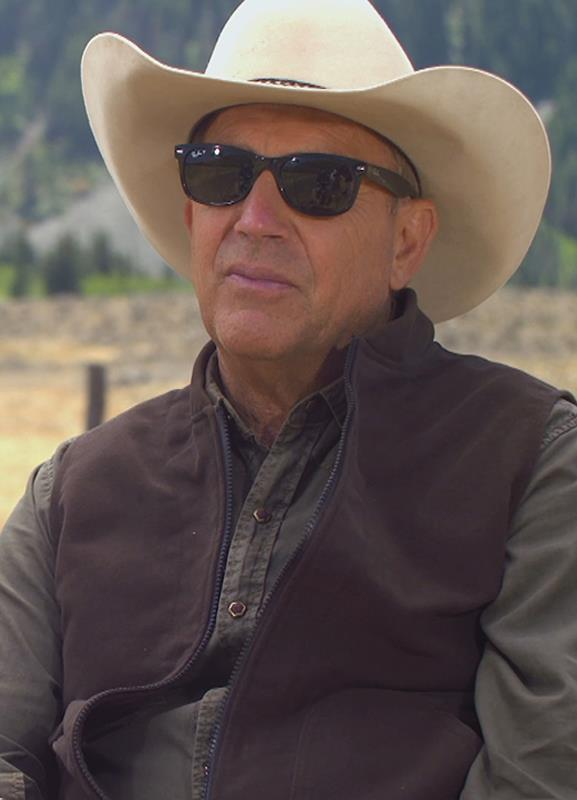 Kevin Costner Yellowstone John Dutton Fabric Vest